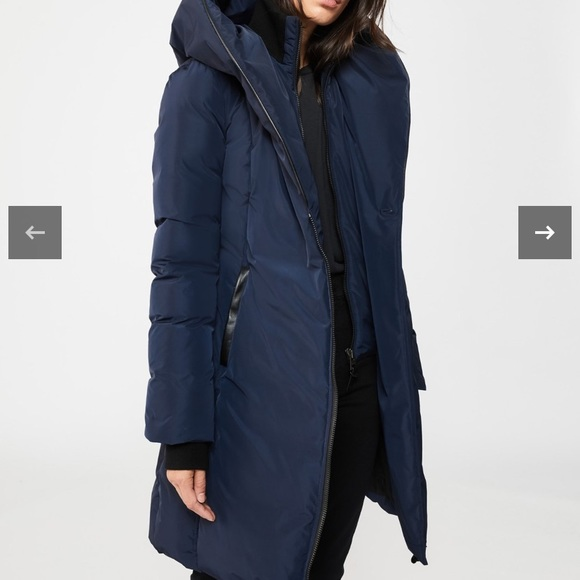 Mackage Kay coat winter size large mint condition